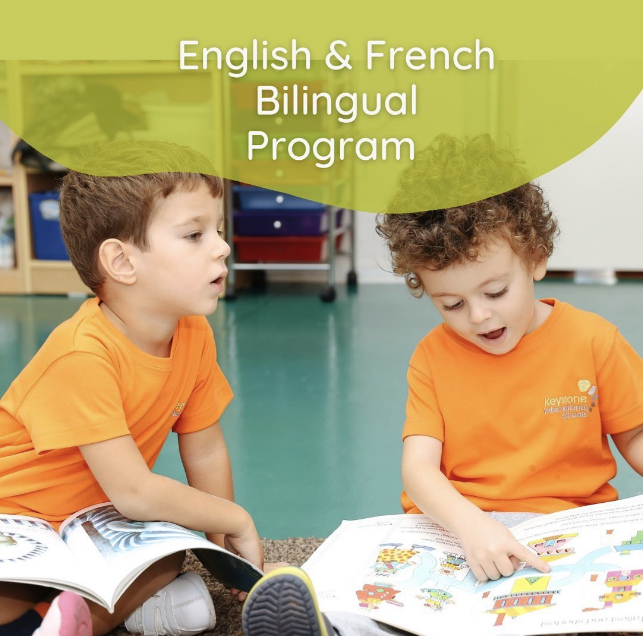 English and French Bilingual Program